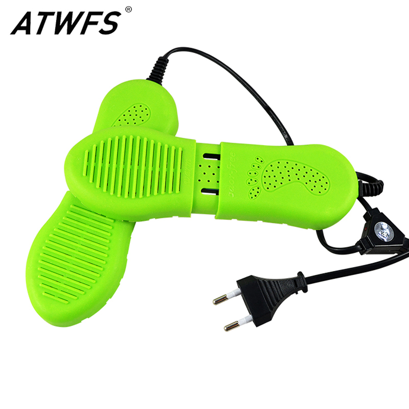 New Shoe Dryer Green Shoe Deodorizer Secadores Electric Machine Drying Shoes Dryer Warmers