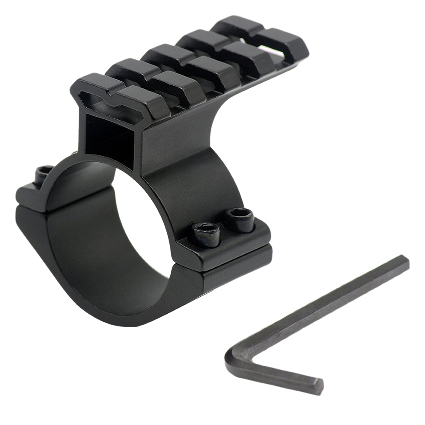 Hunting Accessories Tactical 20mm Weaver Picatinny Rail Barrel Mount 25.4mm 1