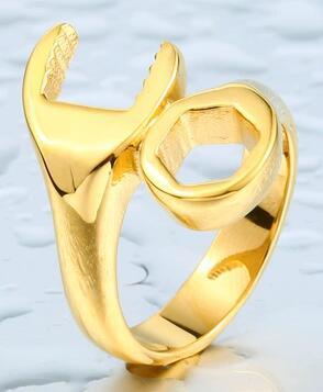 Koocharm 2019 women men rings special shape trendy female male made of steel metal Beauty and jewelry gift female gift hotsale
