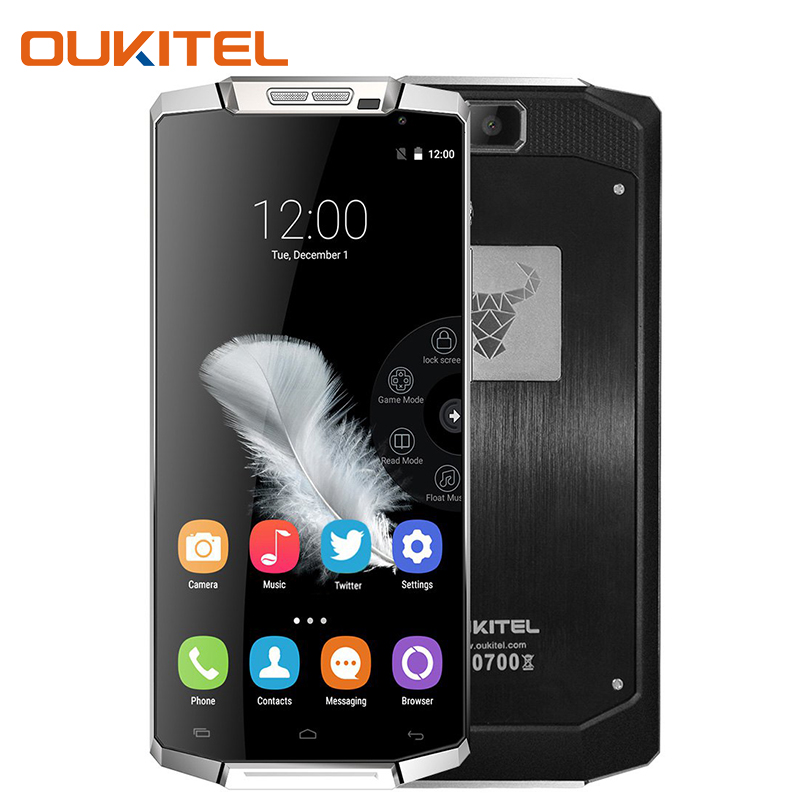Original 10000mAh Oukitel K10000 Mobile Phone Android 5 1 MTK6735 Quad Core 4G LTE Lollipop 5