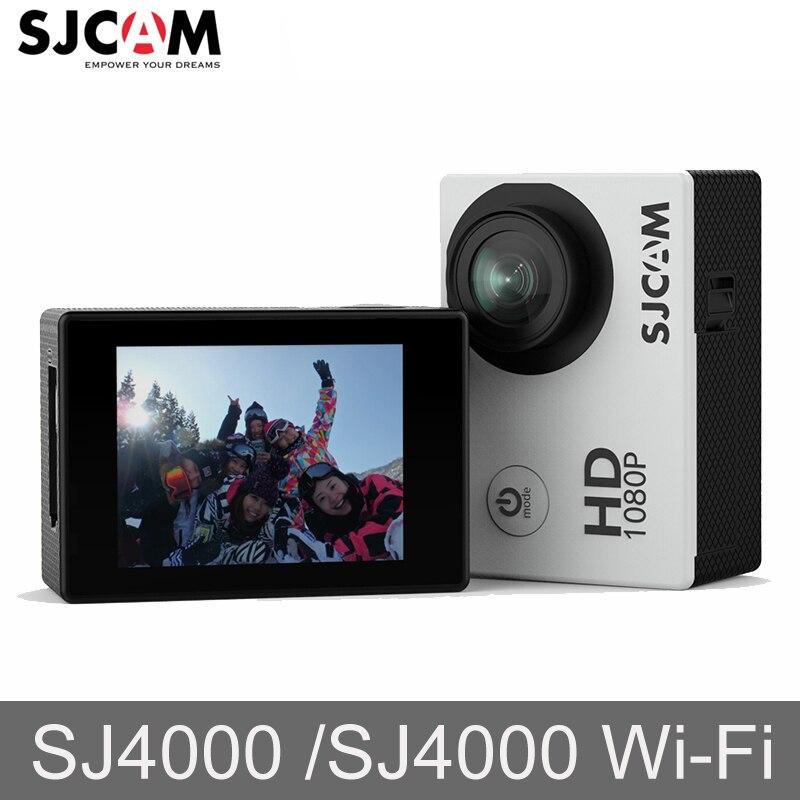 D'origine SJCAM SJ4000 SJ4000 WIFI 2 ''Écran Sport 1080 P HD 30 M ALLER Étanche caméscope professionnel caméra d'action Mini dvr sport