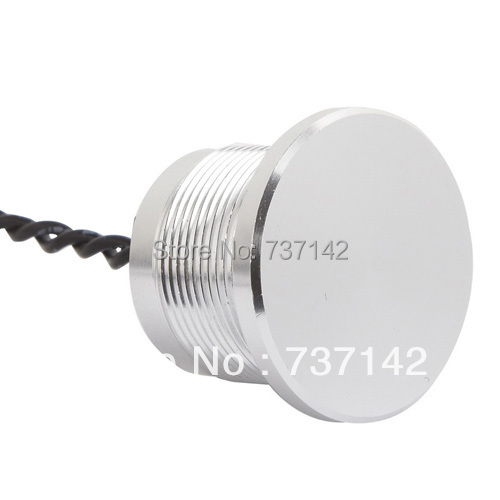 ELEWIND Silver color aluminum anodized piezo switch (22mm,PS223P10YNT1,Rohs,CE) onpow 22mm concave head aluminium anodized piezo switch ps223z10ynt1 ce rohs