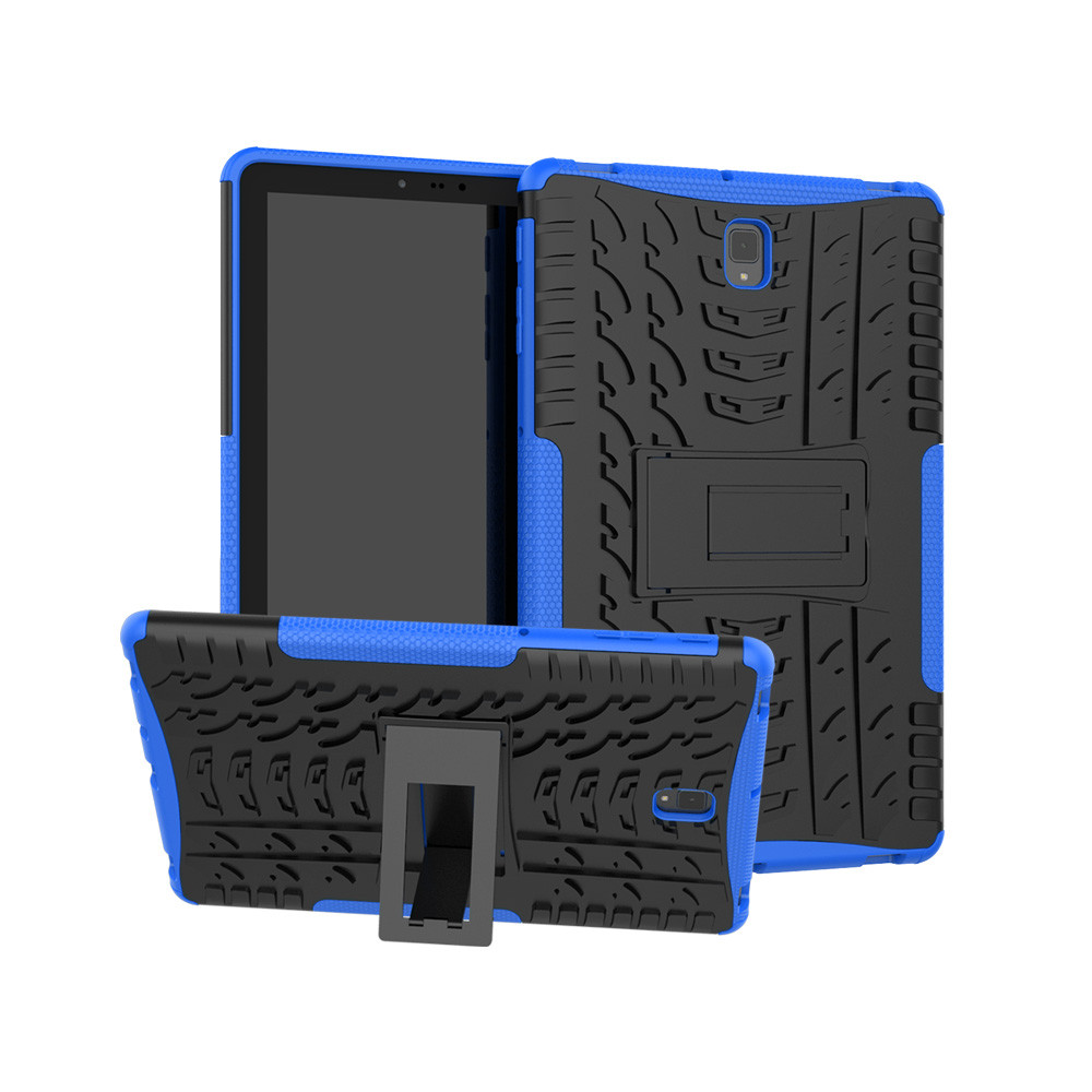 tablet case For Samsung Galaxy Tab S4 (T830/T835) 10.5 Hybrid Rugged Hard Rubber PC Stand Case Cover Slim Folding Anti-dirts z8