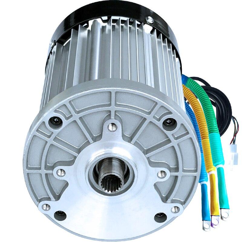 Permanent Magnet Dc Speed Reduction Brushless Motor 48v 60v 800w Electric Three Four Wheeler Brushless Center Motor Motors & Parts Dc Motor