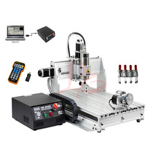 Mach3 CNC 6040 4axis 3axis 1500W Engraving Machine CNC Router Woodworking Milling Engraver