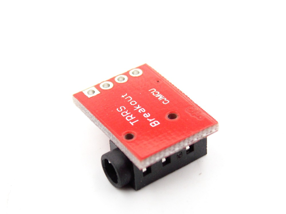3.5mm CJMCU-TRRS audio block MP3 stereo earphone video microphone interface module
