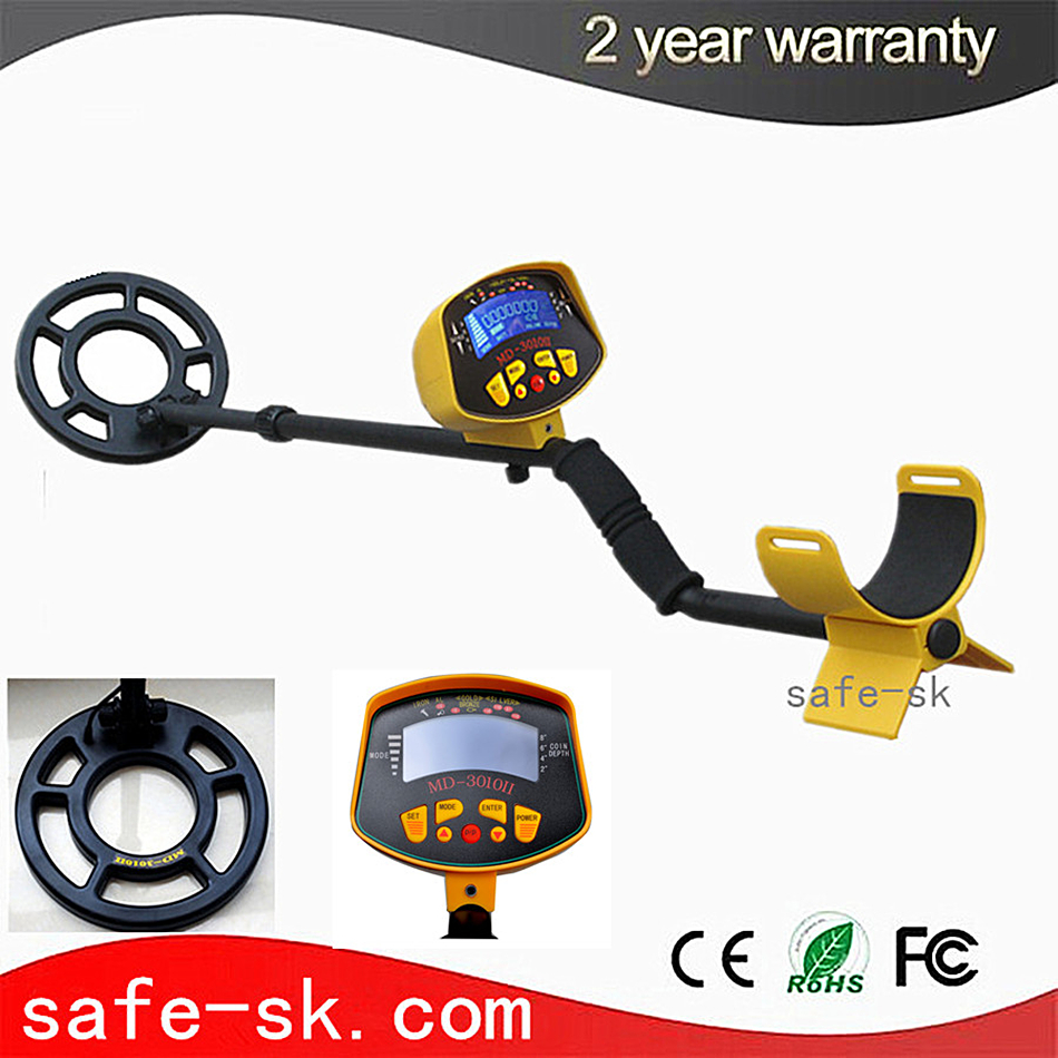 CHEAP Metal Detector Sale Limited Md3010ii Underground gold metal Detector With Lcd Display Gold Treasure Hunter md 3010ii lcd back light display underground metal detector treasure hunter hobby upgraded metal detectors md3010ii