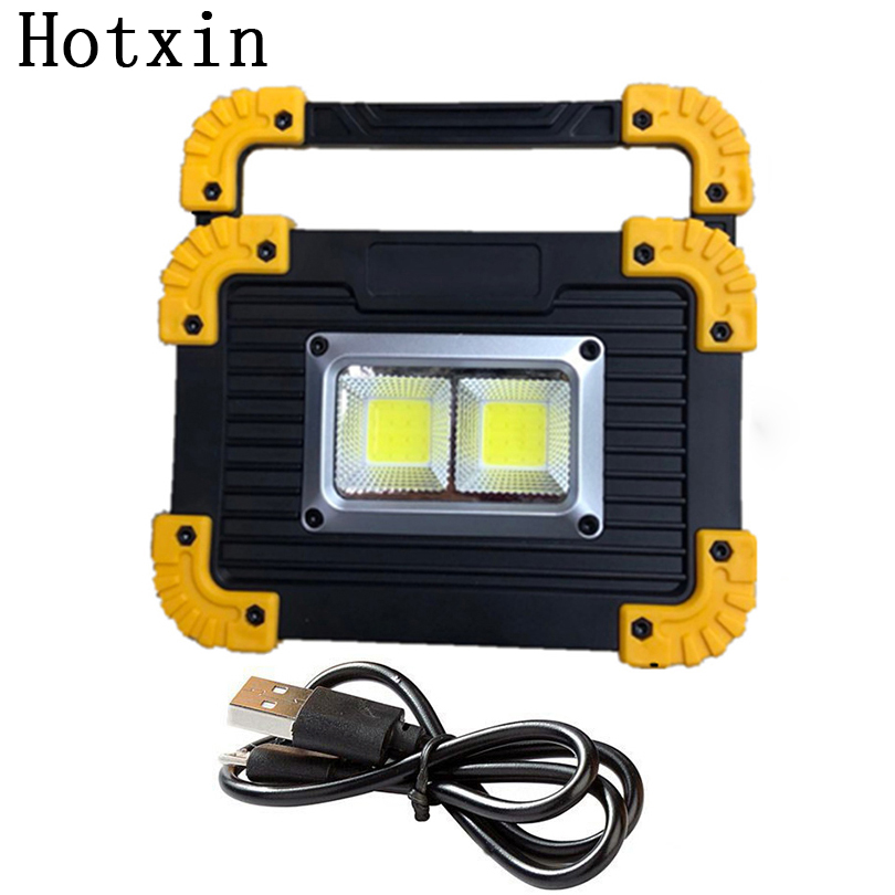20W Portable COB LED Camping Lantern Rechargeable Work Lamp Light Floodlight Flashlight Outdoor Tent Lamp Spotlight Searchlight cob 20w rechargeable led headlamp led lamp outdoor camping flashlight with usb portable warning light emergency work light 18650