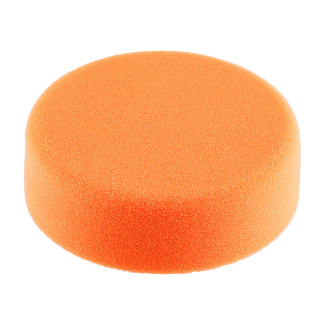 1Pc 6″(15cm) Sponge Polishing Buffing Waxing Pad Wheel For Car Polisher Buffer Orange Polishing Buffing Car Polisher Accessories