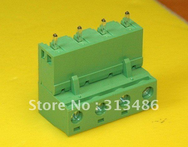4Pin 7 62mm Terminal Block Connector staightneedle