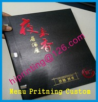 Chinese English Menu Printing Custom