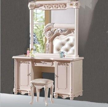 Bianco europeo tavolo specchio camera da letto mobili francesi 08 ...