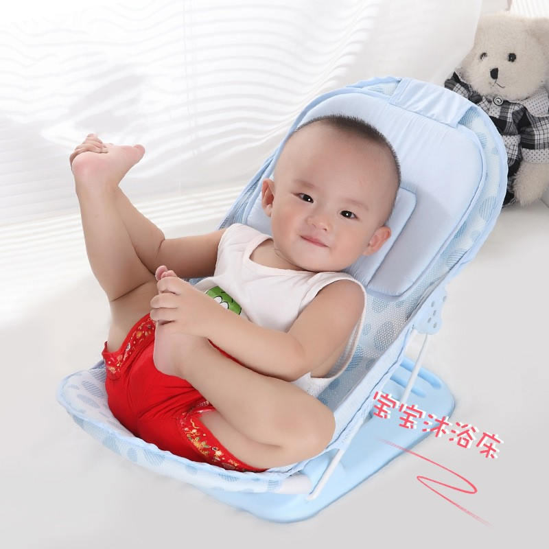 Foldable Baby Bath Tub Bed Newborn Baby Bath Seat Chair - Newborn Baby Bath Seat