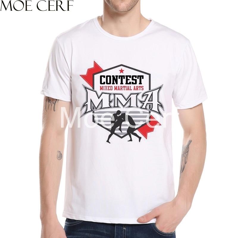 2107 Տղամարդկանց MMA Conor Mcgregor Fitness T-shirts - Տղամարդկանց հագուստ