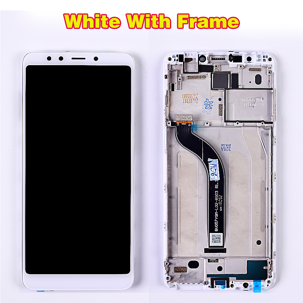 HTB1mtGUbffsK1RjSszbq6AqBXXaO AAA 5.7 inch LCD display for Xiaomi Redmi 5 touch screen digitizer assembly 1440*720 Frame Oleophobic Coating 10 Touch
