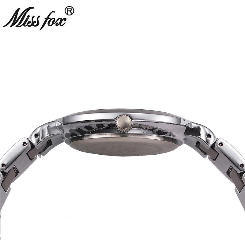 Новые женские часы брендовые кварцевые часы Роскошные водонепроницаемые золотые часы с розами Модные женские белые керамические часы Бесп... - 5