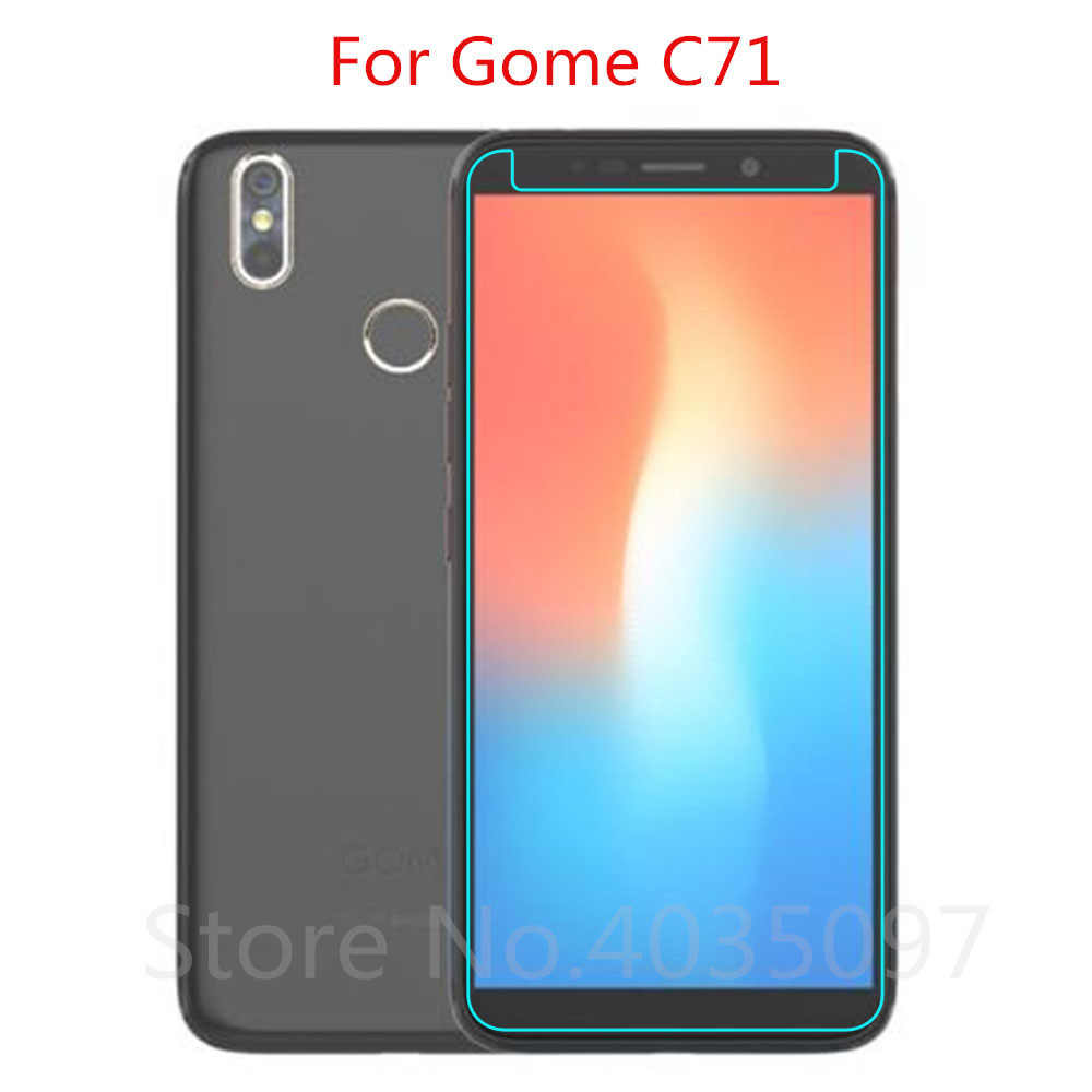 2.5D 0.26mm 9H Premium Tempered Glass For Gome C71 Screen Protector Toughened protective film For Gome C71 Glass