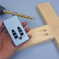 Mini Kreg Style Pocket Hole Jig Kit System DIY Woodworking Tools 9.5MM