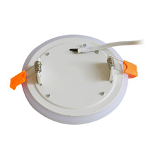 (EICEO) New White+Blue Recessed LED Panel Lamp Lights ceiling Lamps Cutting Round 6w 9w 16w 24w Flat panel Lamp With Driver