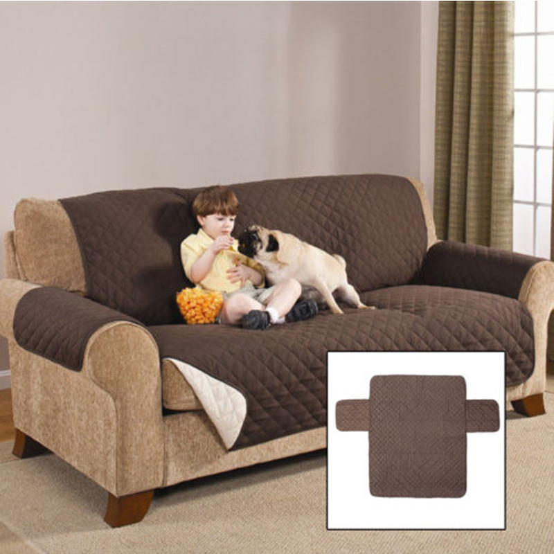Us 10 07 18 Off Waterproof Quilted Sofa Covers For Dogs Pets Kids Anti Slip Couch Recliner Slipcovers Armchair Furniture Protector 1 2 3 Seat In