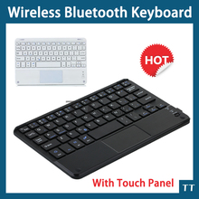 Touch Panel Bluetooth Keyboard Universal Ultra-thin Wireless Touchpad Bluetooth Keyboard For Android Windows tablet PC+touch pen