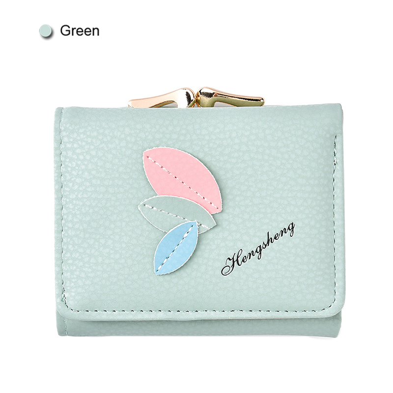 Gentle 2019 New Sweet Women's Lady Wallets Purse Bag Short Pu Mini Multifunctional Durable For Coin Money Cards Holder Fa$3 Luggage & Bags