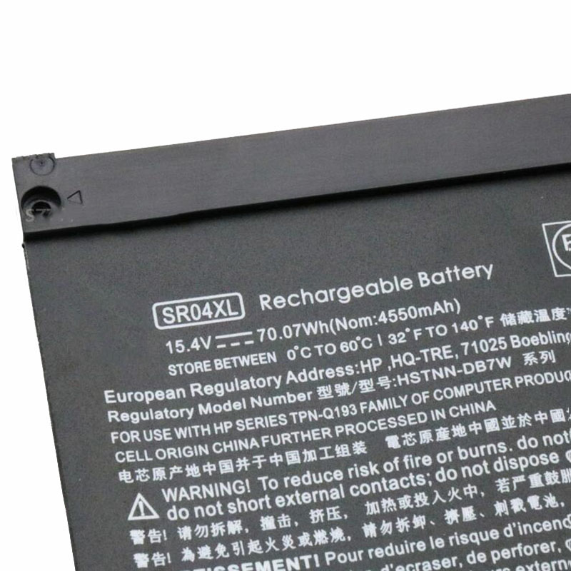 Image 3 - GZSM Laptop battery SR04XL for HP OMEN 15 CE 15 cb 15 CE015DX TPN Q193 TPN Q194  TPN C133 TPN C134 HSTNN DB7W 917724 855 battery-in Laptop Batteries from Computer & Office