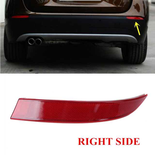 Right Side Rear Bumper Reflector Warning Light Strips Red Lens For BMW X5 E70 xDrive M Sport 2011-2013 OEM 63147240998 #W095-R