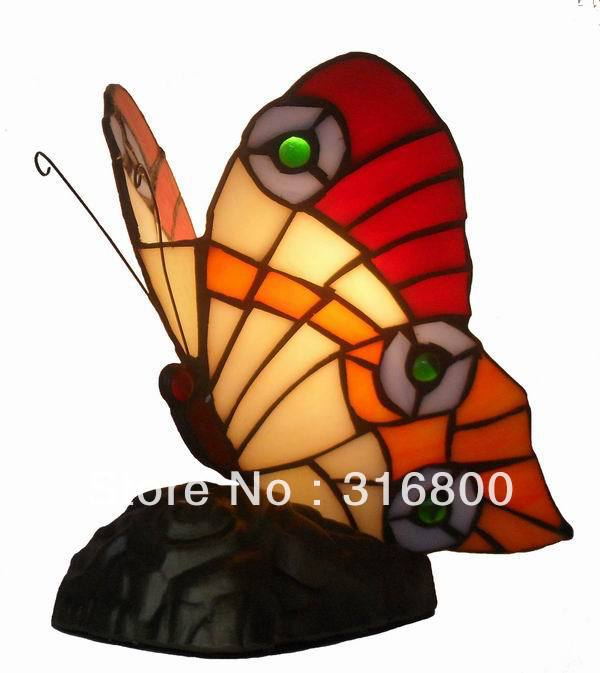 Tiffany European table lamp elegant butterfly princess the Tianyuan Di Giovanni living room study the bedroom desk lighting 007 bosch gkf 600 professional 060160a101