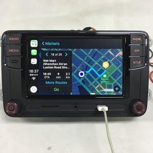 """Image 5 - BODENLA RCD330 בתוספת RCD330G CarPlay APP דסאי 6.5 """"MIB רכב רדיו RCD330G עבור פולקסווגן Tiguan גולף 5 6 ג טה MK5 MK6 פאסאט פולו טוראן"""