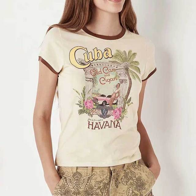 Cuba & Havana Boho Chic T-Shirt