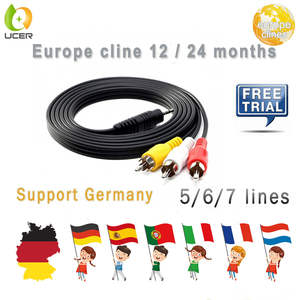 Cccam-Cline Italy Oscam Europe No for Spain Portugal Uk 1-year-channels/7-clines/Gtmedia/..