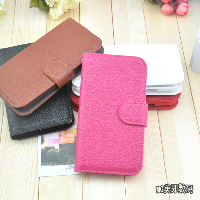 For samsung   gt-i9200 original leather case mobile phone case gt-19200 l9200 mega6.3 protective case cell phone case