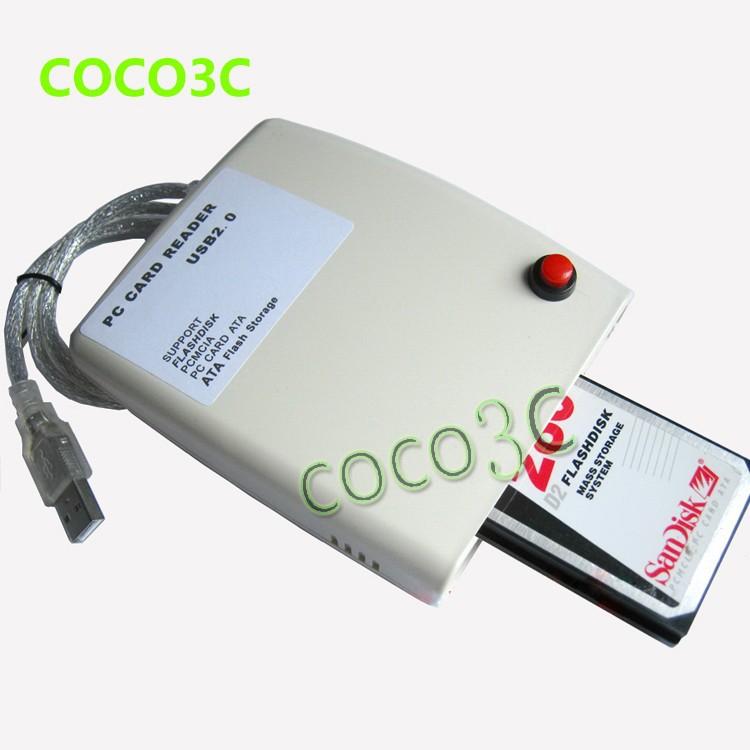 USB 2.0 to PCMCIA adapter 68pin cardbus card reader 2