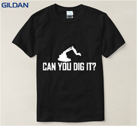Funny T Shirt Big Size For Men Newest Digging The Moon Funny T Shirt 100 Cotton