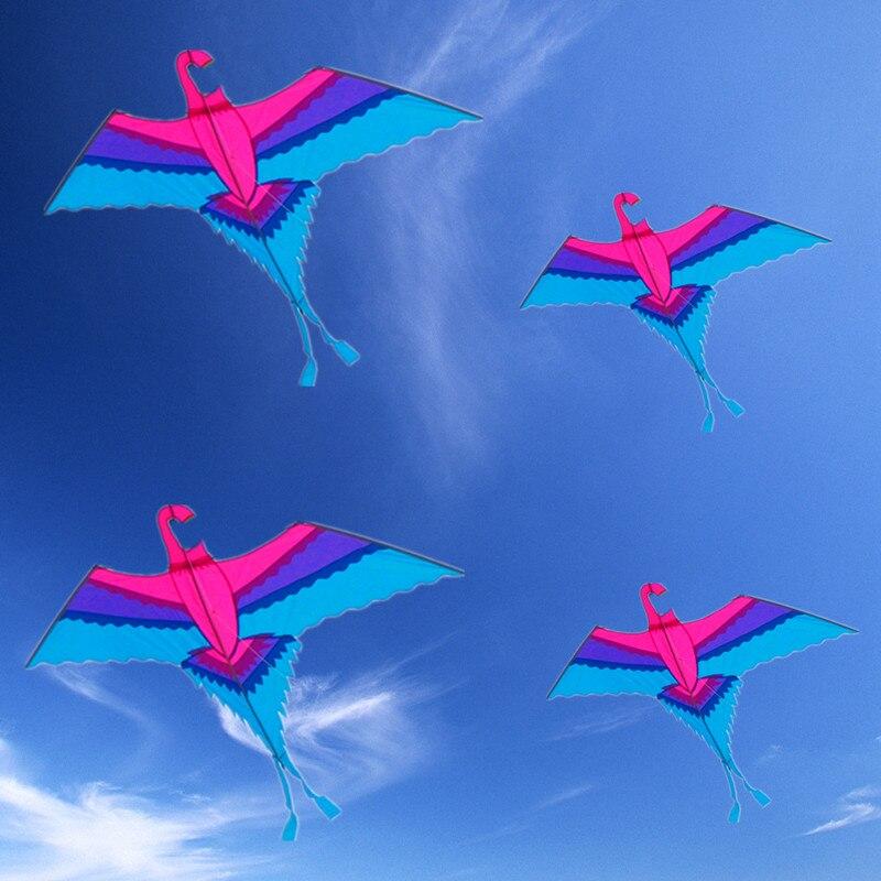Livraison gratuite de haute qualité perroquet cerf-volant en nylon tissu volant dragon jouets de plein air enfants outils pieuvre cerf-volant bobine dessin animé cerf-volant usine - 2