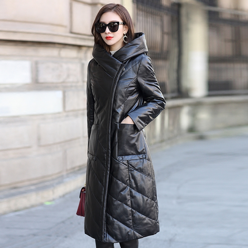 Real Leather Jacket Genuine Sheepskin Coat Winter Jacket Women Clothes 2019 Korean Down Jackets Plus Size Casaco Feminino MY3178
