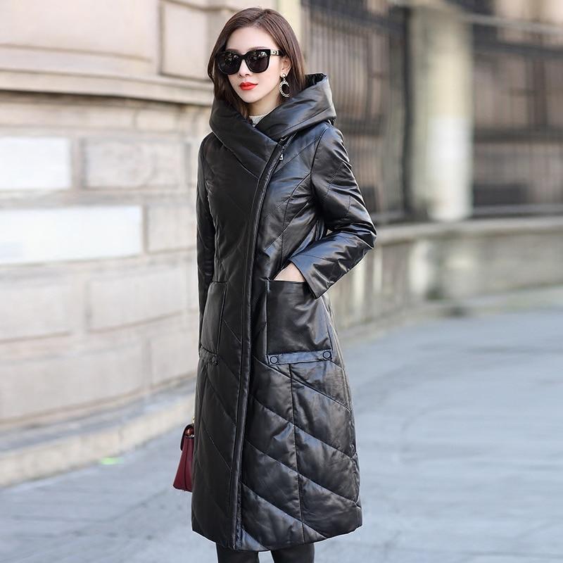 Real Leather Jacket Genuine Sheepskin Coat Winter Jacket Women Clothes 2019 Korean Down Jackets Plus Size Casaco Feminino MY3178