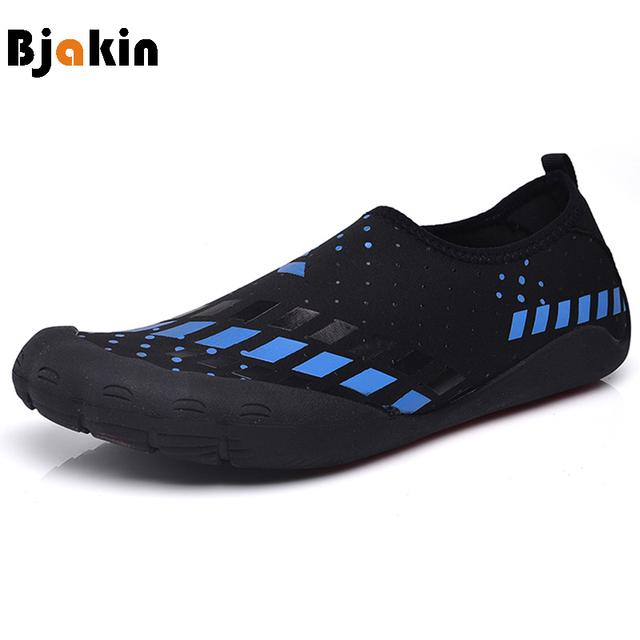 Bjakin Men Five Finger Shoes Beach Water For Man Summer Surfing Yoga Swimming Aqua