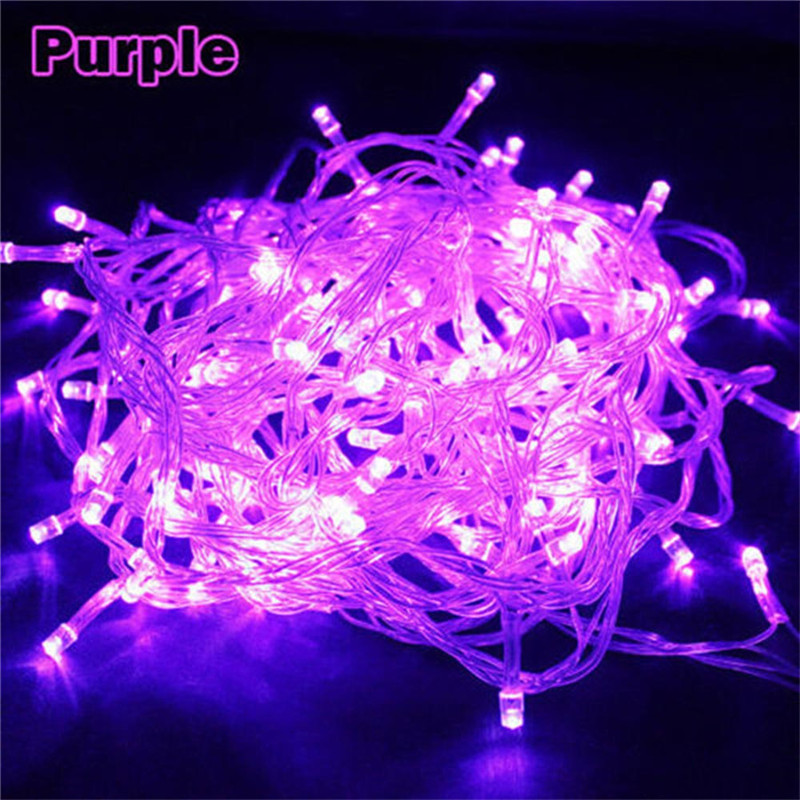 SICCSAEE 10M 100 Led String Garland Christmas Tree Fairy Light Chain Waterproof Home Garden Party Outdoor Holiday Decoration