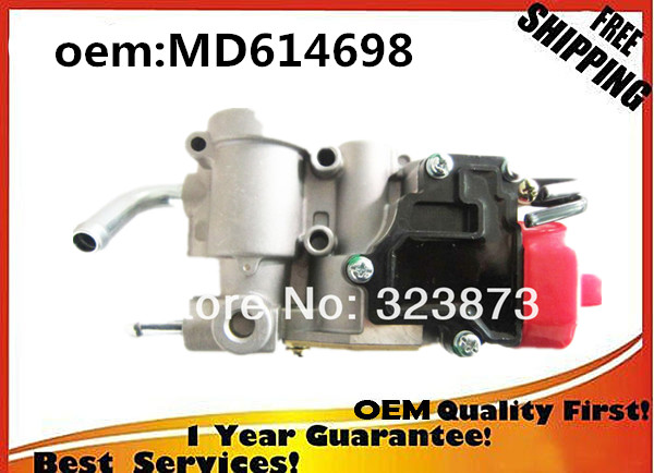 TOP QUALITY Brand  NEW  Idle Air Control Valve   MD614698  MD614696 For Mitsubishi Galant 2  .4L