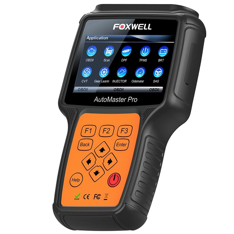 FOXWELL NT644 PRO Full System Professional Automotive OBD OBD2 Diagnostic Tool DPF Regeneration TPS Car Airbag ABS Reset Scanner цены