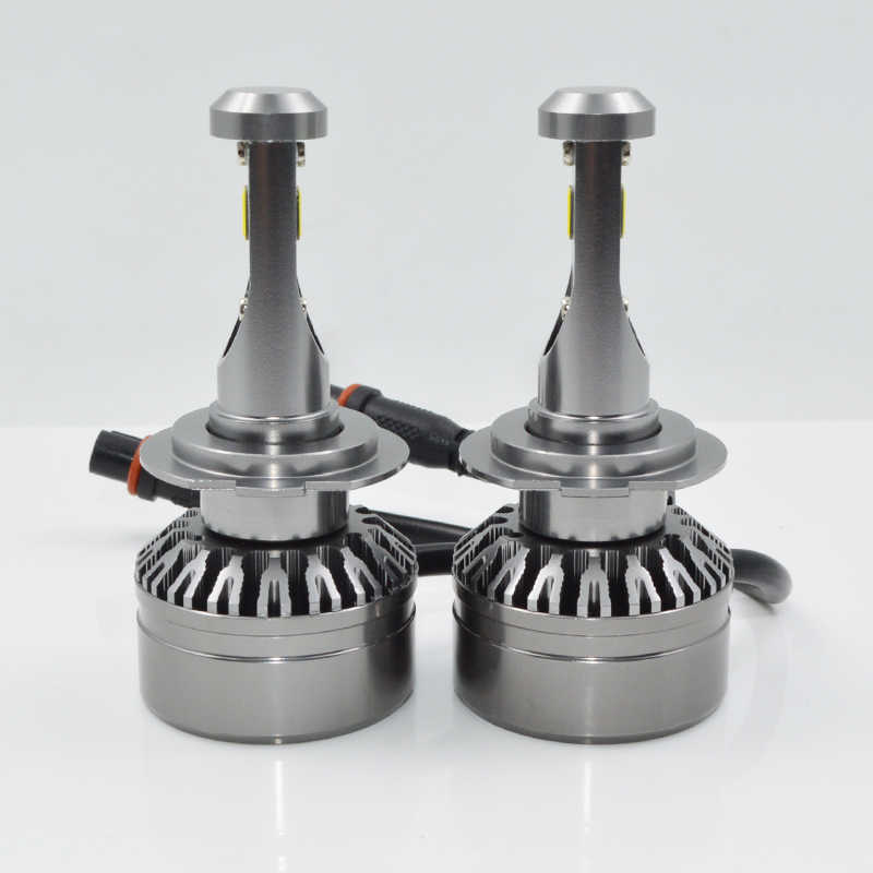 Led Car Headlights Bulbs H1 H7 H8 H11 9005 HB3 9006 HB4 60W 8000LM Dual Color 6000K + 3000K car led Lamp Headlamps 12V 24V