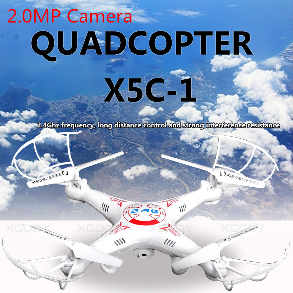 Hot Kvadrokopter Upgrade X5C 1 FPV Quadrocopter with Camera X5C RC font b Drone b font