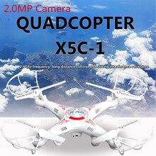 Caliente Kvadrokopter Actualización X5C X5C-12.4G Quadrocopter FPV con Cámara RC Drone Helicóptero Aviones/Sin Cámara VS Syma X5C X5SW
