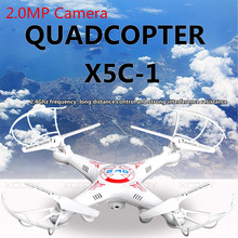 Hot Kvadrokopter Upgrade X5C-1 FPV Quadrocopter with Camera X5C RC Drone Helicopter Drones / Without Camera VS Syma X5C X5SW