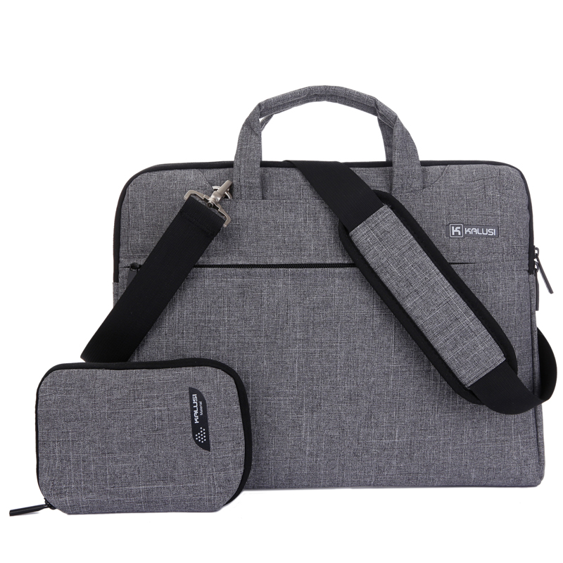 "Laptop Bag Sosire Noua KaLuSi Brand impermeabil de mână 11 ""13"" 15 ""17"" Computer notebook unisex servietă Bag Messenger Messenger"