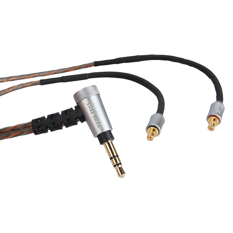 OCC Silver Plated Upgrade Cable For Audio Technica ATH-LS200 LS300 LS400 IS ATH-LS50 ATH-LS70 IS E40 E50 E70 Headphone