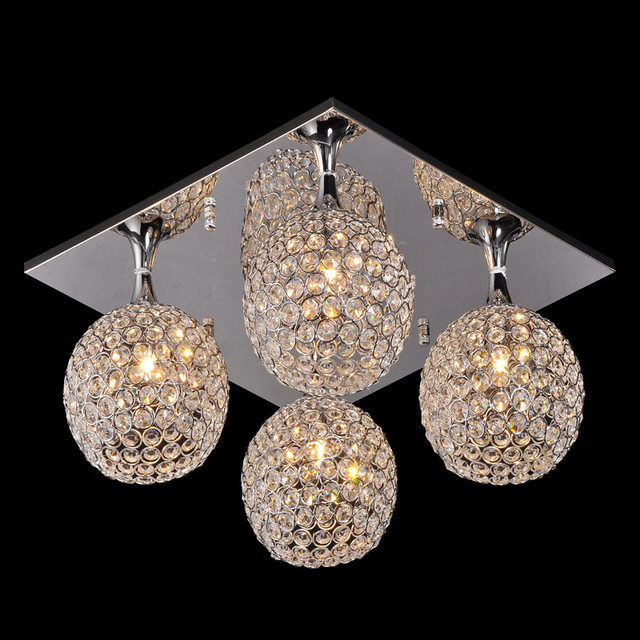 Online shop square top crystal ball ceiling lights living room square top crystal ball ceiling lights living room ceiling lamp bedroom dining room ceiling lighting study room ceiling fixtures mozeypictures Images