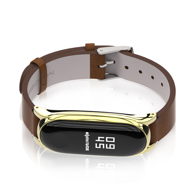 Strap for Xiaomi Mi Band 6 5 for Mi Band 4 Bracelet PU Leather Wrist Strap for Mi Band 3 Wristbands Pulseira Smart Accessories 2